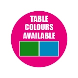 Green and Blue Tables Available