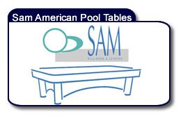 SAM American Pool Tables
