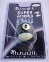 Aramith Pro Cup 2 Inch UK Striped 8 Ball in Blister Pack