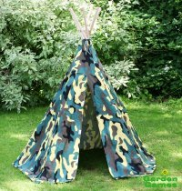 Camouflage Wigwam Playtent