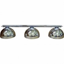 Chrome Canopy Lighting Set - Includes Bar and Shades