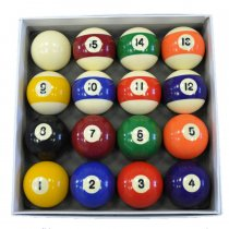 Spots and Stripes Pool Ball Set - UK 2 Inch Table Balls