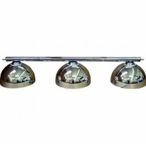 Chrome Canopy Lighting Set - Includes Bar and 3 Shades