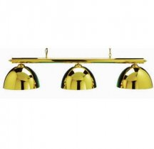 Brass Canopy Lighting Set - Includes Bar and Shades