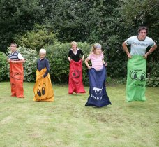 Family Sack Race Game