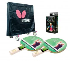 Butterfly Outdoor 2 Player Table Tennis Pack
