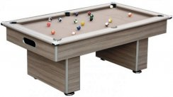 Gatley Classic Slimline Pool Table in Driftwood