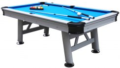 Astral 7ft Outdoor American Pool Table - Wood Bed Surface