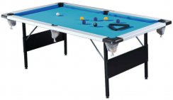 Gatley Folding Leg 7ft UK Style Wood Bed Pool Table