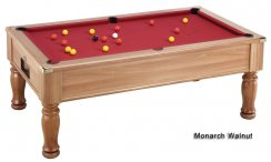 DPT Monarch Slate Bed Pool Table