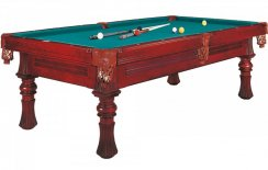Dynamic Berlin Mahogany 8ft or 9ft American Pool Table