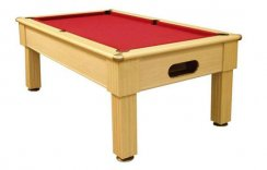 Optima Paris Slate Bed Pool Table - 6ft or 7ft UK Size