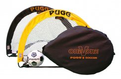Pair of Pugg Football Goals - Popo Up 6ft Size (1 Pair)