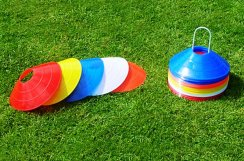 Football Marker Cone Set of 50 - 2 Inch High Cones