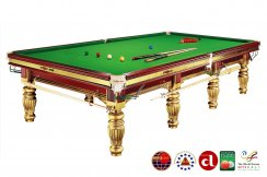 Dynamic Gold Prince 12ft Slate Bed Snooker Table