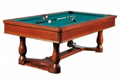 Dynamic Renaissance 8ft Antique Brown American Pool Table