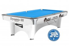 Dynamic 3 Black, Brown or White 7ft, 8ft, or 9ft American Pool Table
