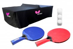 Butterfly 2 Player Outdoor Table Tennis Pack