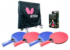 Butterfly 4 Player Outdoor Table Tennis Pack