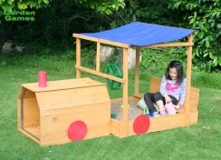 Choo Choo Train Garden Sandpit