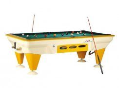 SAM Tempo Outdoor Waterproof American Pool Table