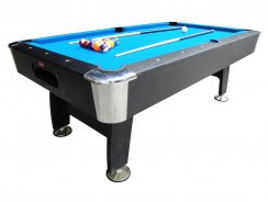 BCE 7ft Deluxe Black Cat Home Wood Bed Pool Table - HPT1-7