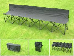 Sports Spectator Bench - Six Seater Folding Chair / Bench