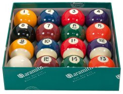 Aramith Spots and Stripes American 2 1/4 Inch Premier Pool Balls Set