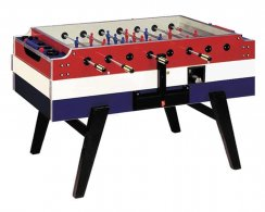 Garlando Red, White & Blue Coin Op Football Table