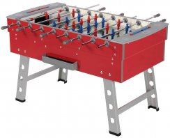 FAS Carnival Indoor Table Football Table in Red Finish