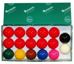 Aramith Snooker Balls for a Pub Style Pool Table