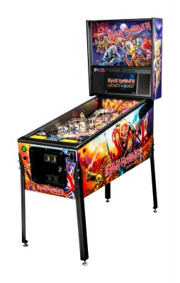 Iron Maiden Pinball Pro Edition - Side View