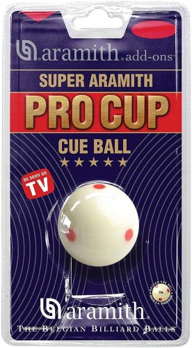 Aramith Pro Cup Cue Ball, UK Pool Size 1 7/8 Inch Size