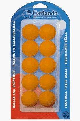 Garlando 10 Orange Footballs in a Blister Pack