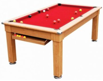 Traditional Pool Dining Table