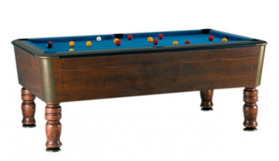 SAM Orleans Mahogany Slate Bed Pool Table