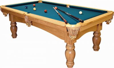 Dynamic Kiev American Pool Table in Oak