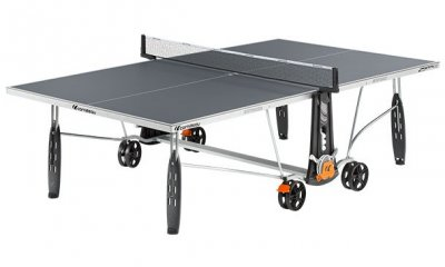 Cornilleau Sport 250S Crossover Outdoor Table Tennis Table - Grey