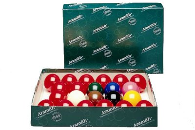 Aramith Full Size Premier Snooker Ball Set