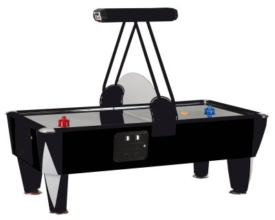 SAM 8ft Black Track Air Hockey