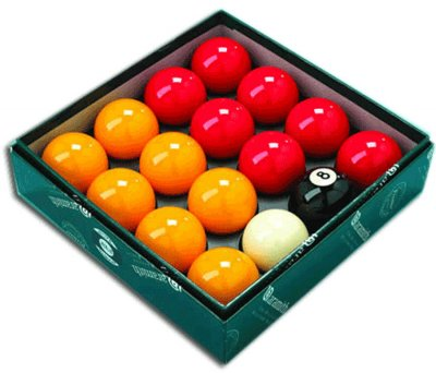 Aramith Red and Yellow Balls Set Premier