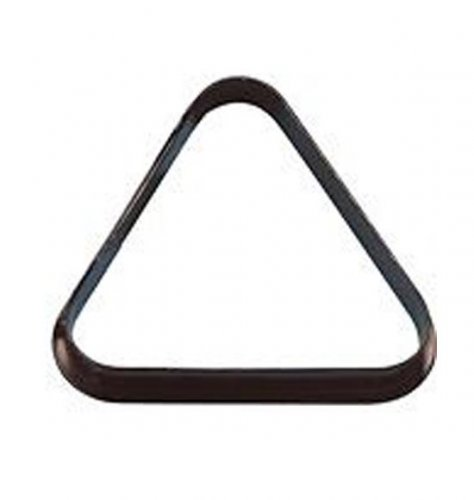 Pool Ball Triangle UK 2 Inch Size Black