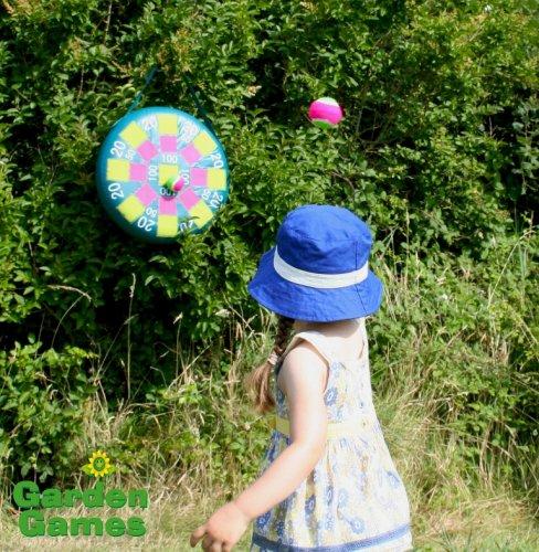 Garden Games Inflatable Target Toss