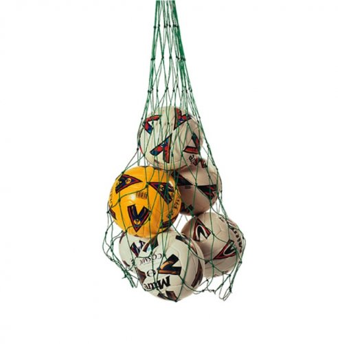 Football Ball Net Holder - Ball Net Bag Holds 12 Balls