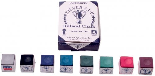 Silver Cup Chalk Box of 12 - Wide Range of Colours Available