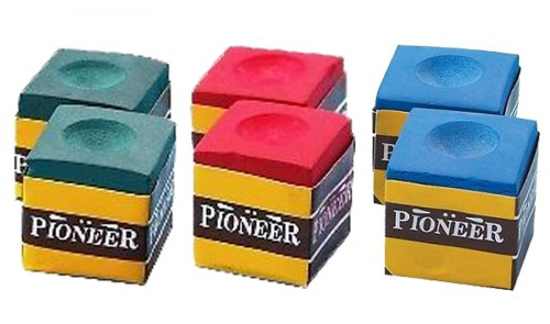 Box of 12 Chalk Cubes - Red, Green or Blue