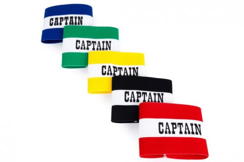 5 x Adult Captain Arm Bands - Elastic Football Arm Bands