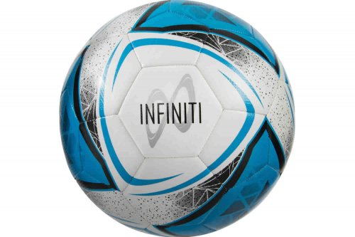 Infiniti White/Cyan Blue/Black Training Football