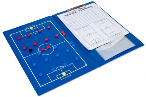 Football Coaching Folder - Samba Magnetic A4 Coaches Tactic Folder