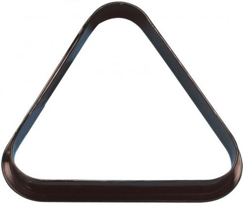 Pool Ball Triangle UK 2 Inch Size Black